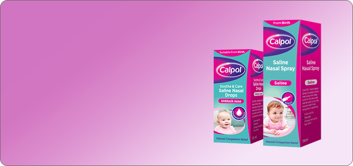 CALPOL® Soothe & Care Saline Nasal Spray & Drops